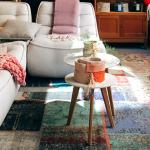 3 spôsoby rozmiestnenia nábytku na koberci