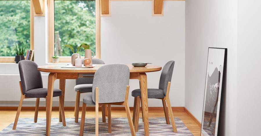 Dominanta jedálne - miesto, kde sa schádza rodina