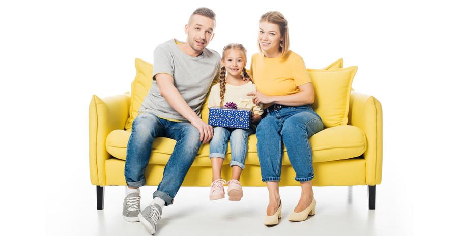 Farebná sedačka rozžiari váš domov!