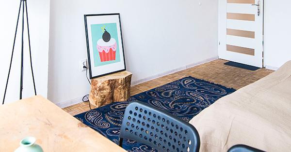 Svieže asvetlé ladenie pre malé miestnosti